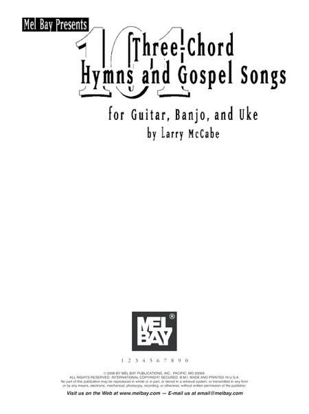 Preview 101 Three-Chord Hymns & Gospel Songs For Guitar