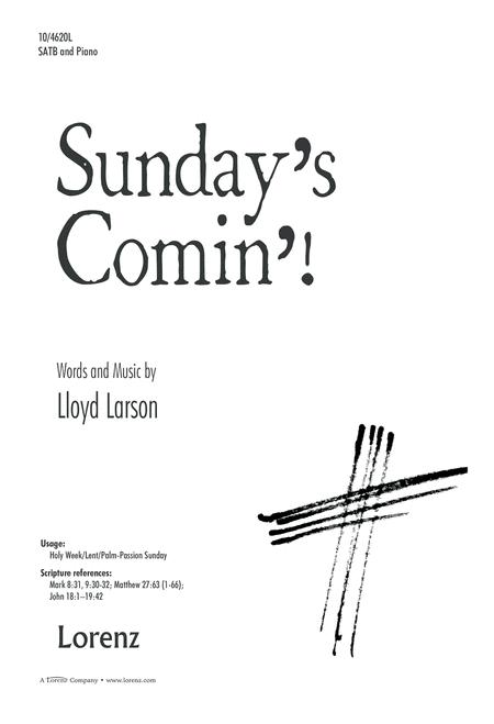 Preview Sunday's Comin'! By Lloyd Larson (LX.10-4620L