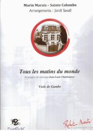 Tous Les Matins Du Monde Musique : matins, monde, musique, Matins, Monde, Sainte-Colombe, Marin, Marais, Sheet, Music, Viola, Gamba, Print, RM.AZ1367