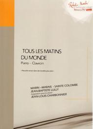 Tous Les Matins Du Monde Musique : matins, monde, musique, Matins, Monde, Marin, Marais,, Sainte-Colombe, Sheet, Music, Viola, Gamba, Print, RM.AZ1368