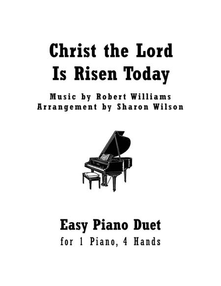 Download Christ The Lord Is Risen Today (Easy Piano Duet