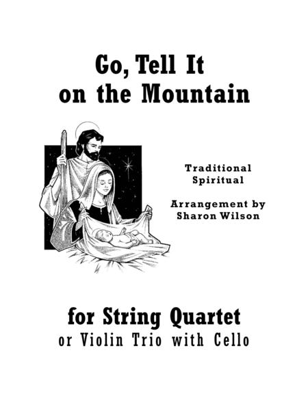 Download Go, Tell It On The Mountain (for String Quartet