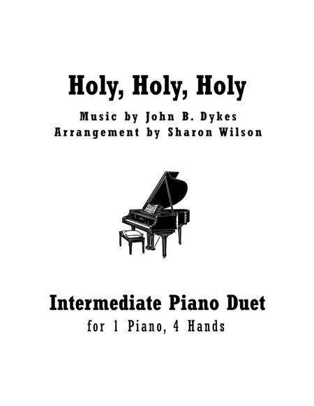 Download Holy, Holy, Holy (Intermediate Piano Duet; 1