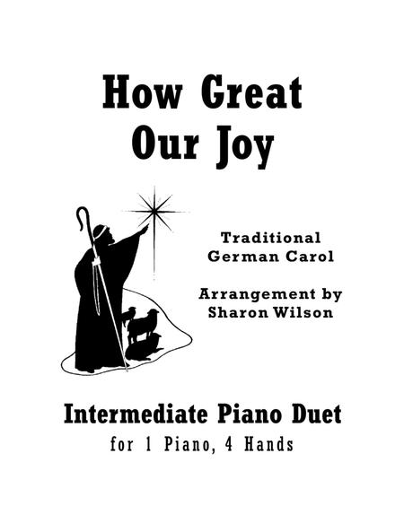 Download How Great Our Joy (Intermediate Piano Duet; 1