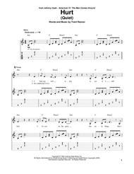 Nin Hurt Tab : (Quiet), Nails,, Digital, Sheet, Music, Guitar, Play-Along, Download, Print, HX.337018