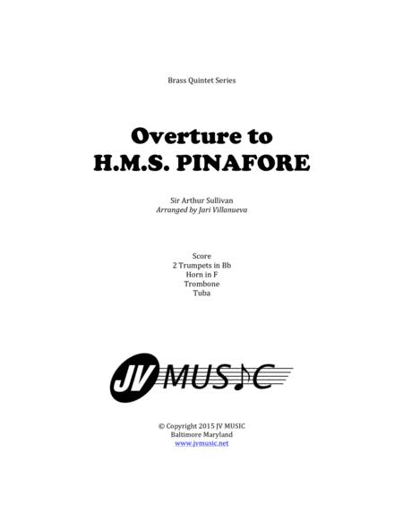 Preview Overture To H.M.S. Pinafore For Brass Quintet By