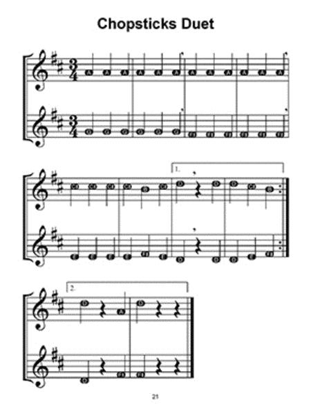 Sheet Music Extract for WHISTLE