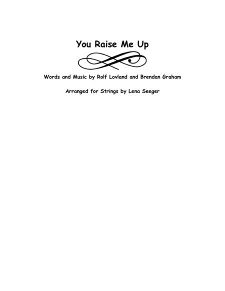 Download You Raise Me Up (string Trio) Sheet Music By Josh