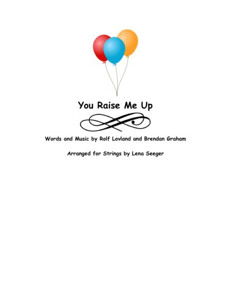 Download You Raise Me Up (two Violins And Cello) Sheet