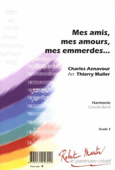 Mes Amis Mes Amours Mes Emmerdes : amours, emmerdes, Amours, Emmerdes, Charles, Aznavour, Conductor's, Score, Sheet, Music, Concert, Print, RM.AZNA05602-CO