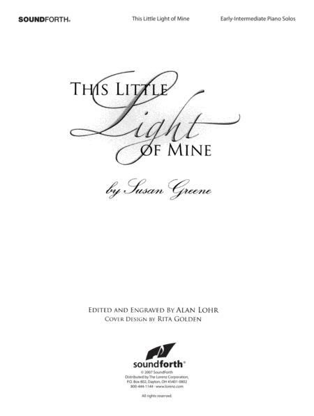 Download This Little Light Of Mine Sheet Music By Susan