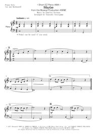 Maybe Annie Sheet Music : maybe, annie, sheet, music, Short, Piano, Maybe, Musical, Production, ANNIE, Charles, Strouse, Digital, Sheet, Music, Individual, Download, Print, H0.168923-532761