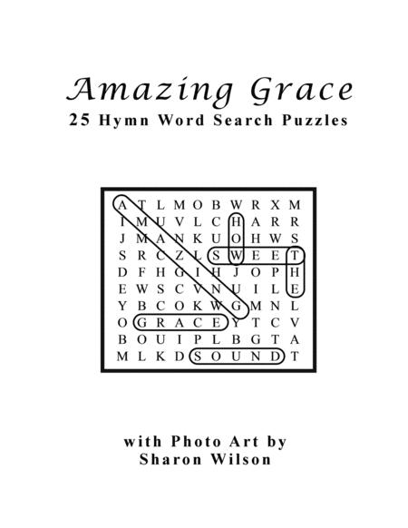 Download Amazing Grace (25 Hymn Word Search Puzzles) Sheet
