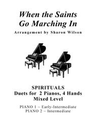 Download When The Saints Go Marching In (Mixed Level, 2