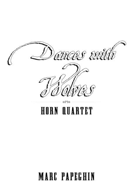 Download Dances With Wolves // French Horn Quartet Sheet
