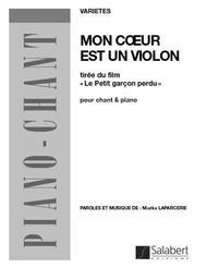 Mon Coeur Est Un Violon : coeur, violon, Coeur, Violon, Miarka, Laparcerie, Score, Sheet, Music, Voice, Piano, Print, BT.SLB-00120900