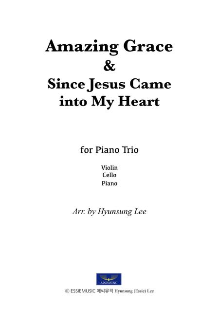 Amazing Grace For Piano Trio (Violin,Cello,Pno) By John