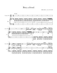 Bury A Friend By - Digital Sheet Music For Trumpet.Trumpet.Piano (Download & Print H0.558513-SC003788932 From Alexander S Cottrell Self-published ...