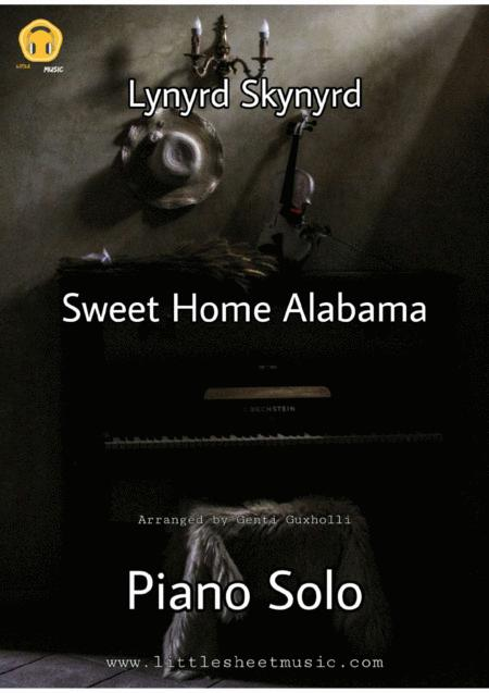 Scales for soloing over sweet home alabama. Sweet Home Alabama Piano Solo By Lynyrd Skynyrd Digital Sheet Music For Individual Part Lead Sheet Score Download Print H0 576021 801580 Sheet Music Plus