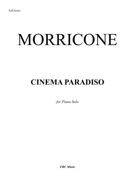 Preview Cinema Paradiso (for Piano Solo) (H0.782397