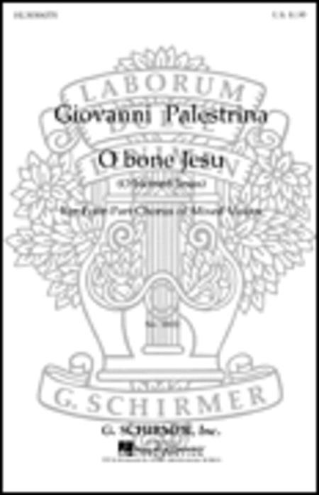 O Bone Jesu (O Blessed Jesus) Sheet Music By Giovanni