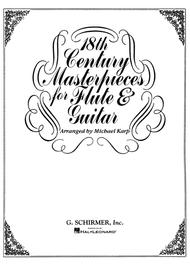 18th Century Masterpieces For Flute And Guitar Sheet Music