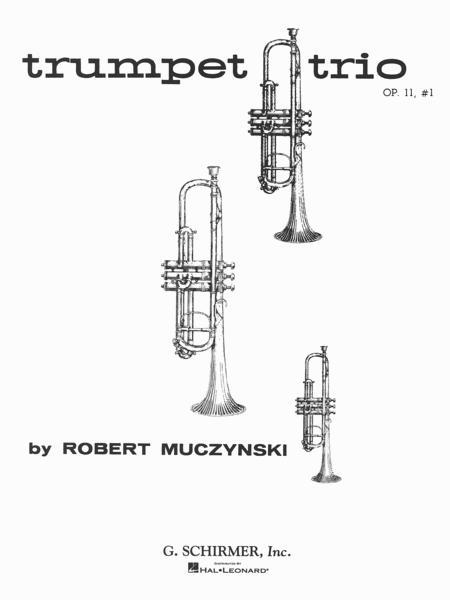 Trumpet Trio, Op. 11, No. 1 Sheet Music By Robert