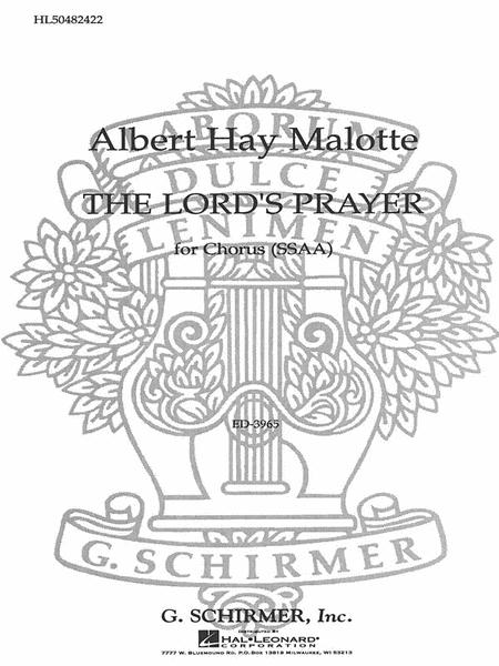 The Lord's Prayer Sheet Music By Albert Hay Malotte