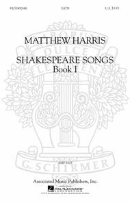 Shakespeare Songs, Book I Sheet Music By Matthew Harris