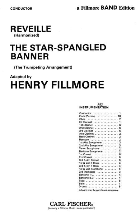 Reveille (Harmonized)/The Star-Spangled Banner (The