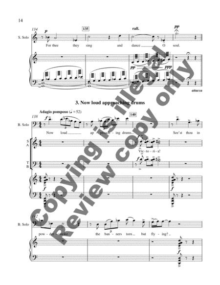 Proud Music Of The Storm (Choral Score) By Carlyle Sharpe
