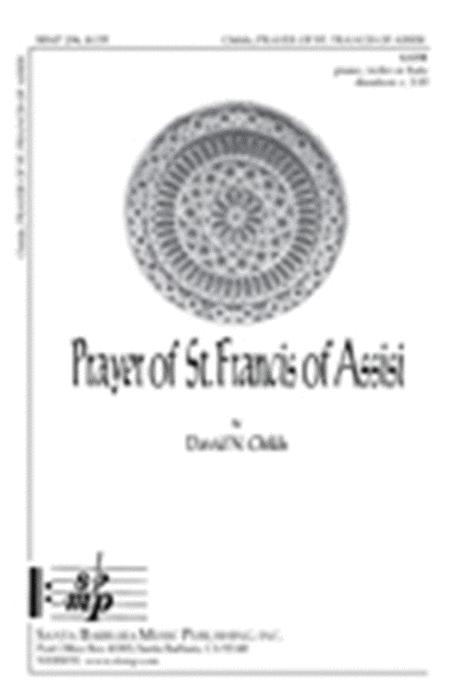 Prayer Of St. Francis Of Assisi By David N. Childs