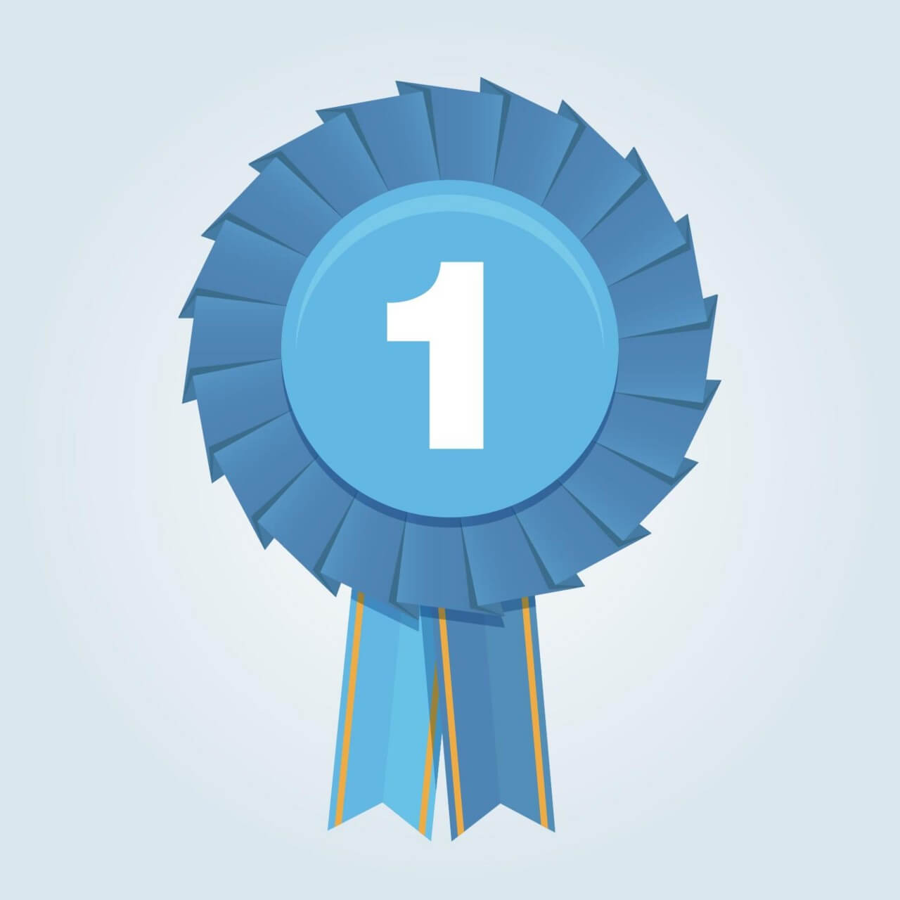 Free Vector First Place Ribbon