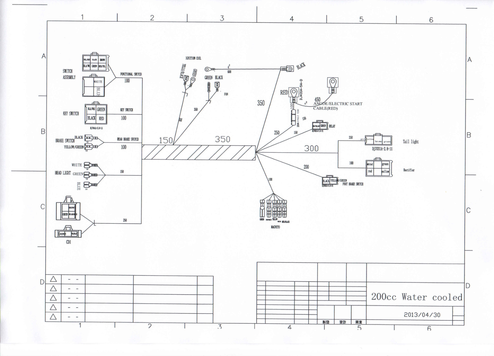 wiring diagram for 150cc scooter stratocaster 3 way switch kandi 250 250cc schematic diagramkandi best library go karts