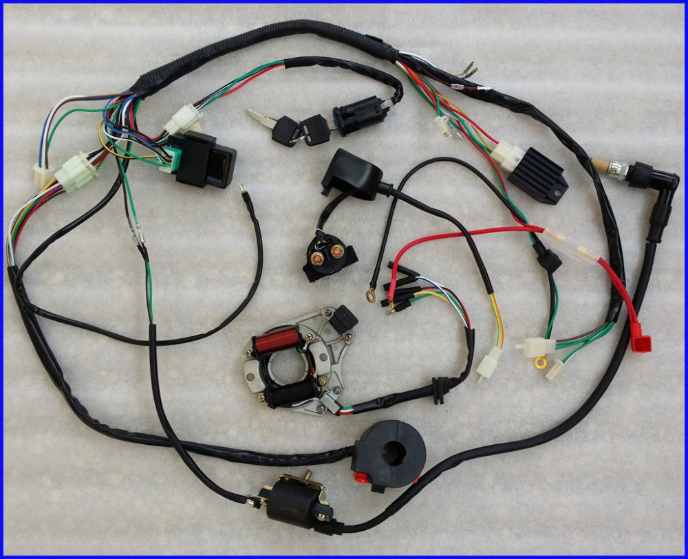 medium resolution of kazuma 49cc quad wiring diagram images gallery complete electrics atv stator 50cc 70cc 110cc 125cc