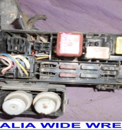 toyota hilux 1989 1996 petrol fuse box relays wires cut 1989 hilux special 1989 toyota van [ 1280 x 720 Pixel ]