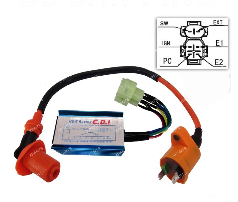 medium resolution of gy6 racing cdi wiring diagram
