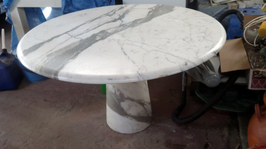 I Have 2 Cast Iron 20 Marble Tables And 1 50marble