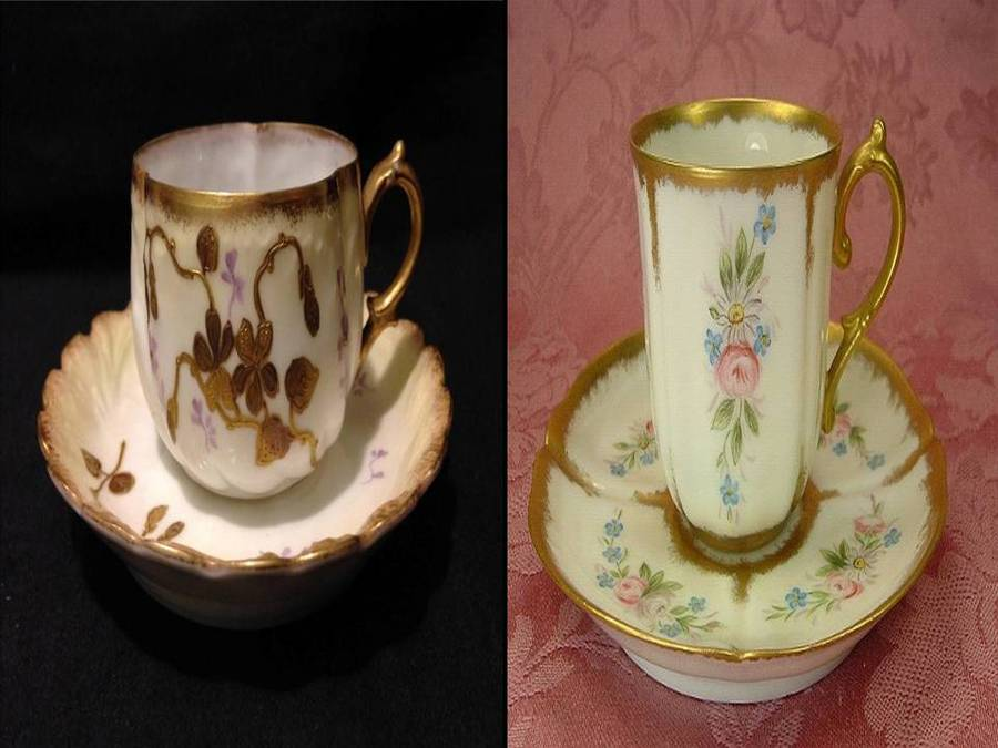 Antique Demitasse Cup ?? Here's Another I've Been Trying To Identify. Fine ...   Artifact Collectors