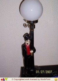 How Old Is My Charlie Chaplin Lamp? How Do I Find Out ...