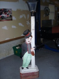Chaplin Lamp Post | Charlie Chaplin Club