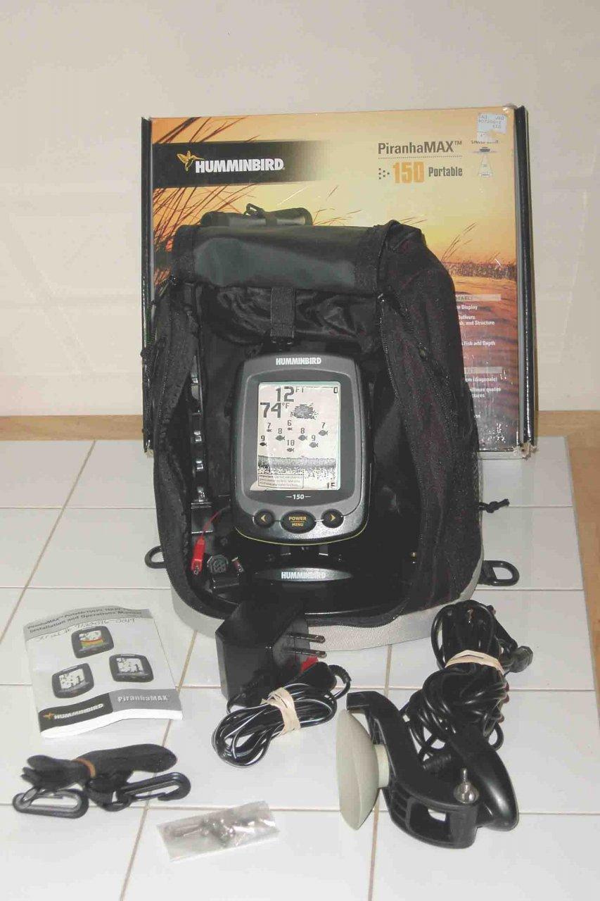 Humminbird Piranhamax 150 Portablefishfinder