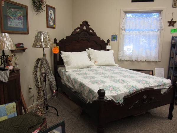 1800s Bed Frame Eastlake  My Antique Furniture Collection
