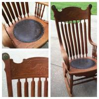 Rocking-chair | My Antique Furniture Collection