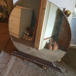 Chair Stand Photos American Girl Doll Styling My Antique Furniture Collection - How Much Is This 1930s Waterfall Vanity Mirror Only Worth ...