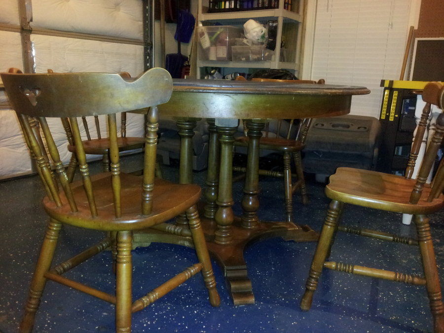 Shop from lounge chairs, lounge chair roc. I Have A Set Of Four Tell City Maple Chairs Along With A ...