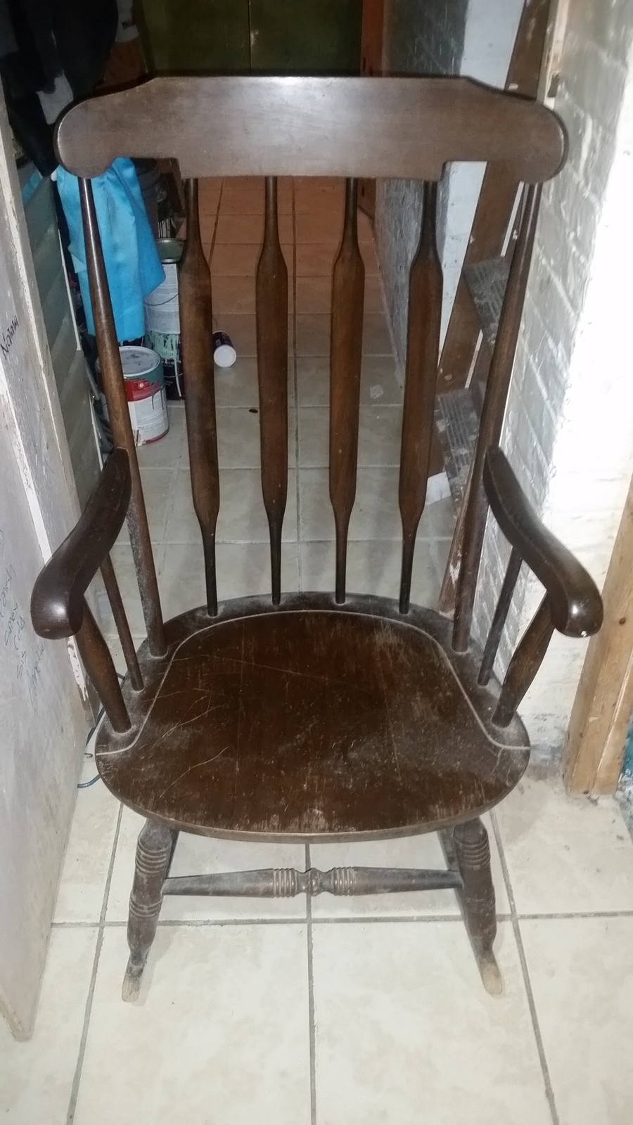 I Have A Rocking Chair Marked SK And The Numbers 307