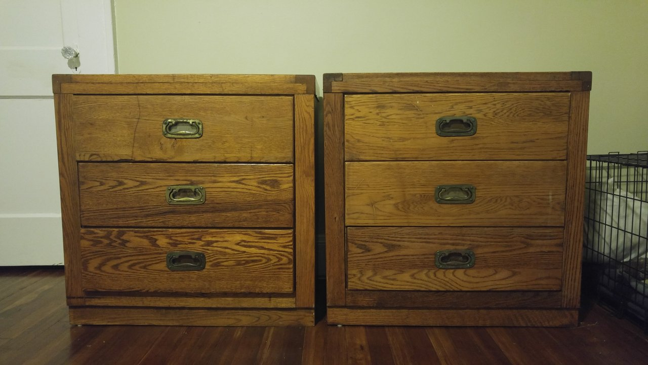 YoungHinkle Passport 3 Drawer Dressers  My Antique