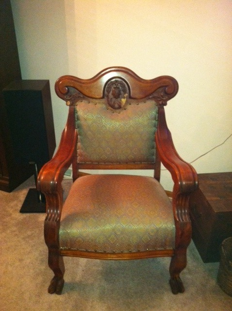 antique rocking chair identification lifetime adirondack chairs can you help me identify this chair? i got from my grea... | furniture collection