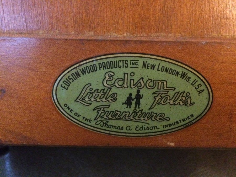 I Have An Edison Little Folks Furniture Mini Crib I Say Mini As By Today  My Antique